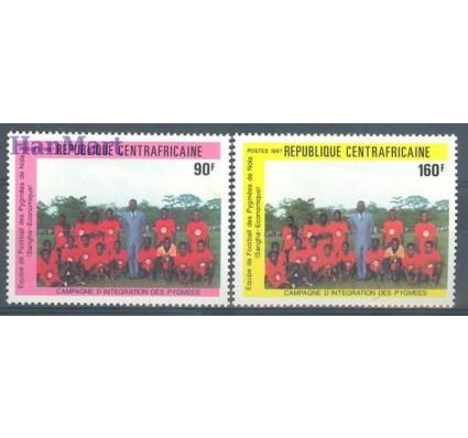 Znaczek Republika Środkowoafrykańska 1987 Mi 1304-1305 Czyste **