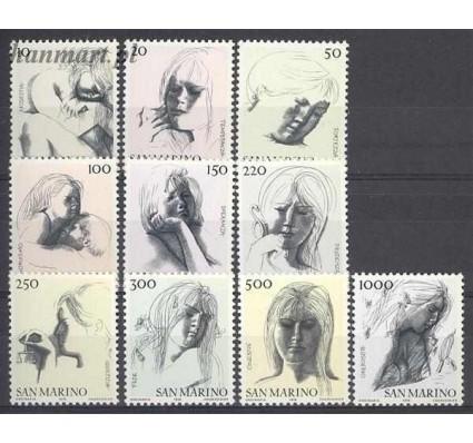 Znaczek San Marino 1976 Mi 1105-1114 Czyste **