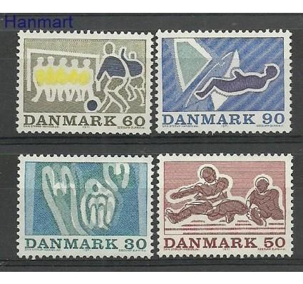 Znaczek Dania 1971 Mi 514-517 Czyste **