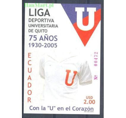 Znaczek Ekwador 2005 Mi bl 182 Czyste **