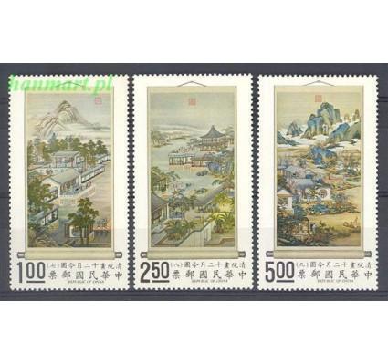 Znaczek Tajwan 1971 Mi 833-835 Czyste **