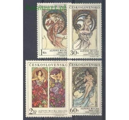 Znaczek Czechosłowacja 1969 Mi 1884-1887 Czyste **
