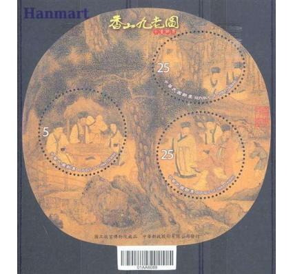 Znaczek Tajwan 2010 Mi bl 157 Czyste **