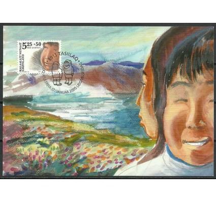 Znaczek Grenlandia 2005 Mi 437 Karta Max