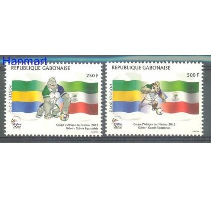 Znaczek Gabon 2012 Mi 1707-1708 Czyste **