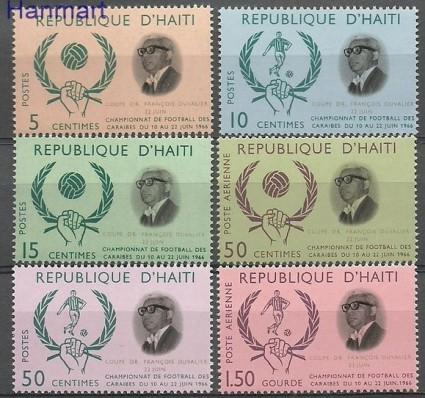 Znaczek Haiti 1966 Mi 874-879 Czyste **