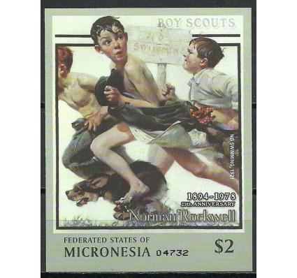 Znaczek Mikronezja 2003 Mi bl 124 Czyste **