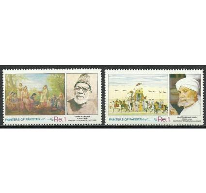 Znaczek Pakistan 1991 Mi 833-834 Czyste **