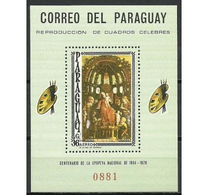Znaczek Paragwaj 1966 Mi bl 95 Czyste **