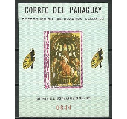 Znaczek Paragwaj 1967 Mi bl 96 Czyste **