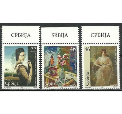 Znaczek Serbia 2009 Mi 297-299 Czyste **