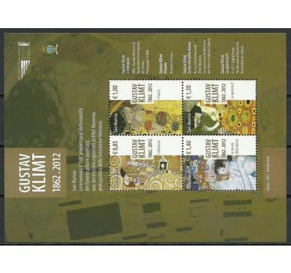 Znaczek San Marino 2012 Mi bl 58 Czyste **