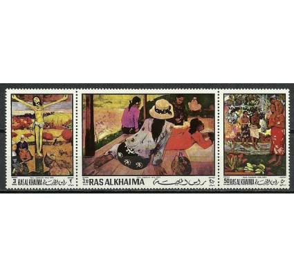 Znaczek Ras Al Khaima 1970 Mi 392-394 Czyste **