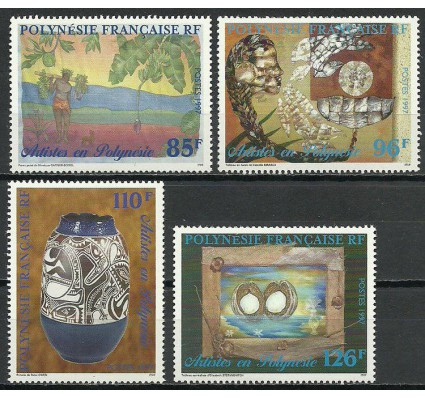 Znaczek Polinezja Francuska 1997 Mi 749-752 Czyste **