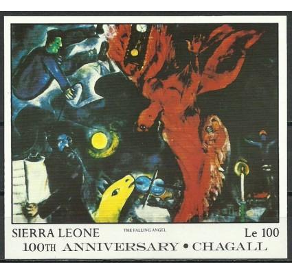 Znaczek Sierra Leone 1987 Mi bl 63 Czyste **
