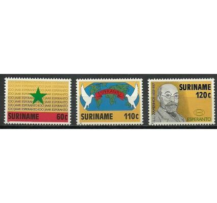 Znaczek Surinam 1987 Mi 1198-1200 Czyste **