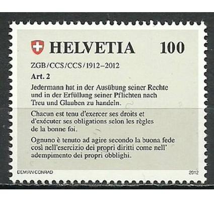 Znaczek Szwajcaria 2012 Mi 2236 Czyste **