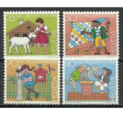 Znaczek Szwajcaria 1984 Mi 1284-1287 Czyste **