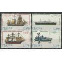 Włochy 1977 Mi 1579-1582 Czyste **