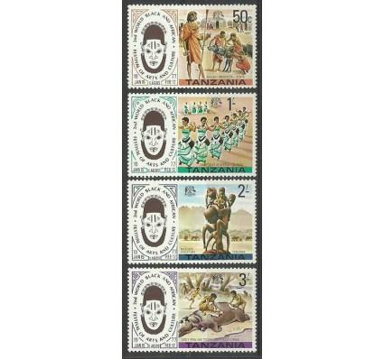 Znaczek Tanzania 1977 Mi 70-73 Czyste **