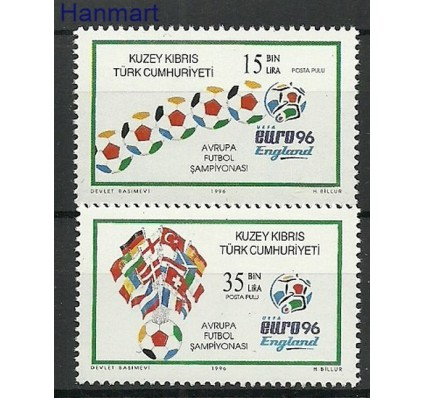 Znaczek Cypr Północny 1996 Mi 436-437 Czyste **
