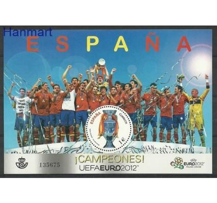 Znaczek Hiszpania 2012 Mi bl 230 Czyste **