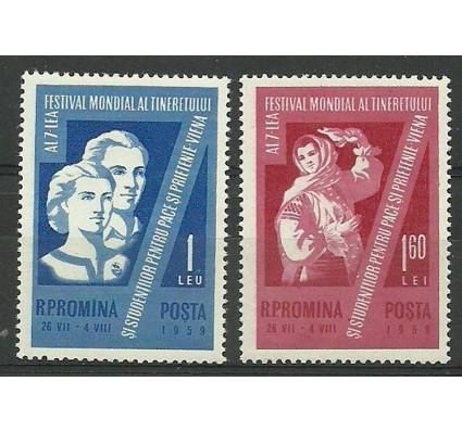 Znaczek Rumunia 1959 Mi 1790-1791 Czyste **