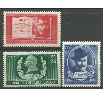 Znaczek Rumunia 1952 Mi 1386-1388 Z podlepką *