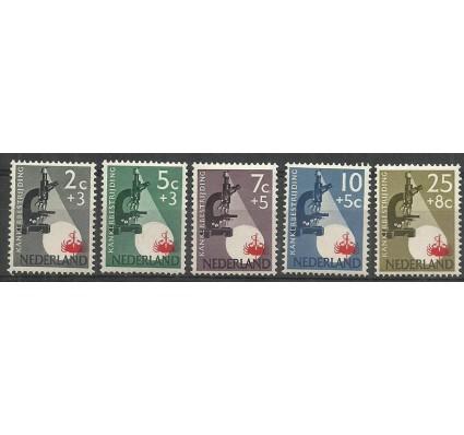 Znaczek Holandia 1955 Mi 662-666 Czyste **
