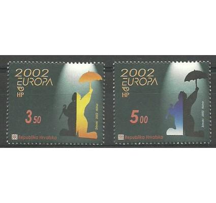 Znaczek Chorwacja 2002 Mi 610-611 Czyste **
