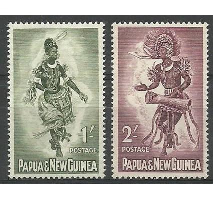 Znaczek Papua Nowa Gwinea 1961 Mi 34-35 Czyste **