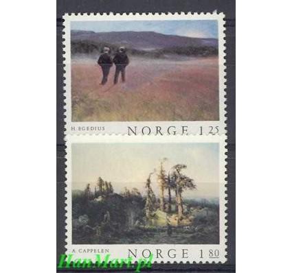 Znaczek Norwegia 1977 Mi 753-754 Czyste **