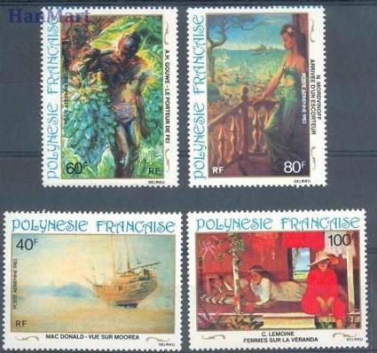 Znaczek Polinezja Francuska 1983 Mi 390-393 Czyste **