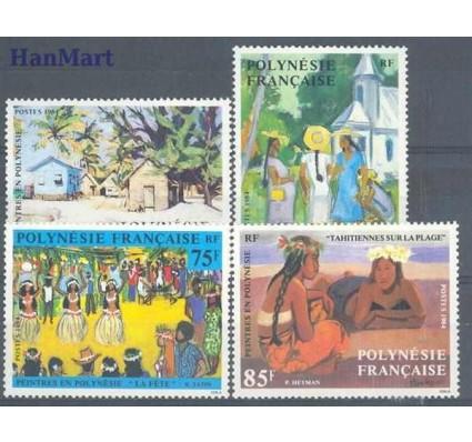 Znaczek Polinezja Francuska 1984 Mi 414-417 Czyste **