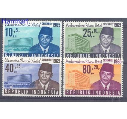 Znaczek Indonezja 1965 Mi 495-498 Czyste **