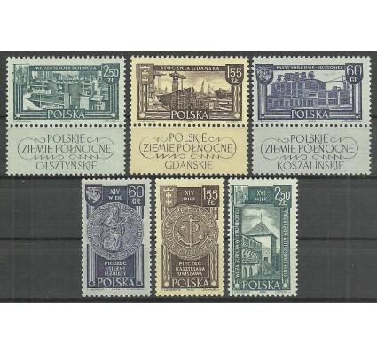 Znaczek Polska 1962 Mi zf 1319-1324 Fi zf 1171-1176 Czyste **