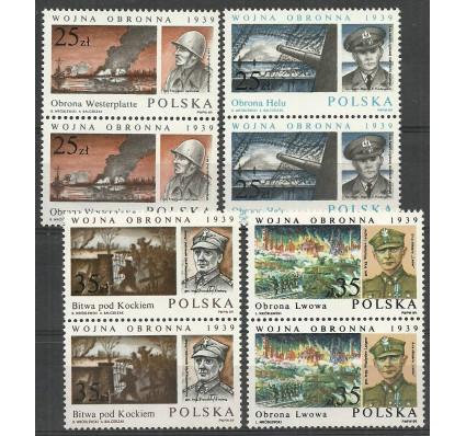 Znaczek Polska 1989 Mi 3216-3219 Fi 3068-3071 Czyste **