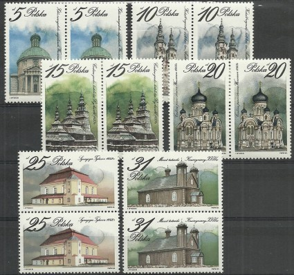 Znaczek Polska 1984 Mi 2954-2959 Fi 2806-2811 Czyste **
