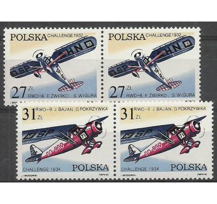 Znaczek Polska 1982 Mi 2806-2807 Fi 2658-2659 Czyste **