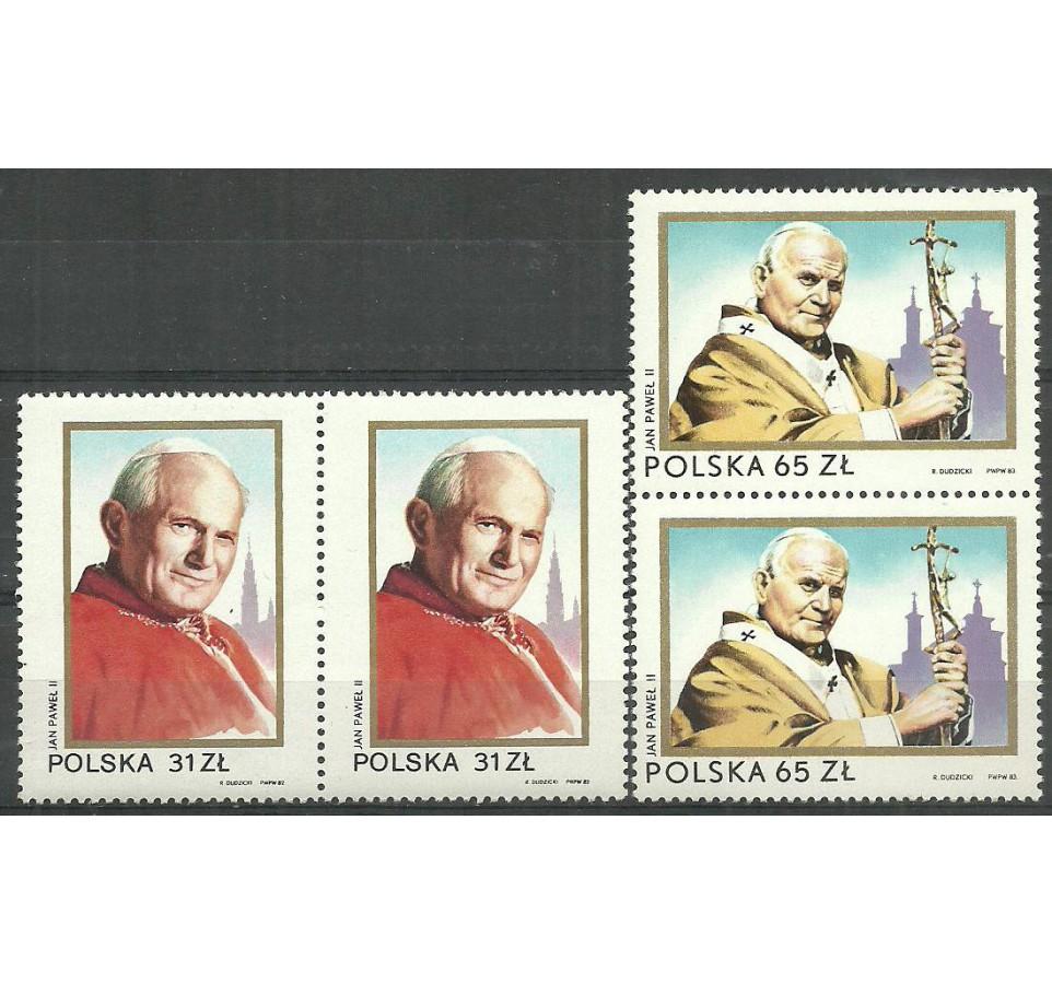 Polska 1983 Mi 2868-2869 Fi 2720-2721 Czyste **