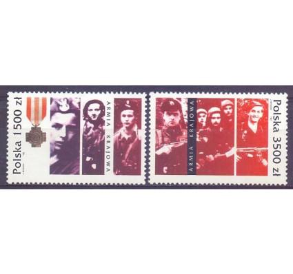 Znaczek Polska 1992 Mi 3413-3414 Fi 3265-3266 Czyste **
