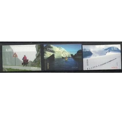 Znaczek Norwegia 2004 Mi 1497-1499Du Czyste **