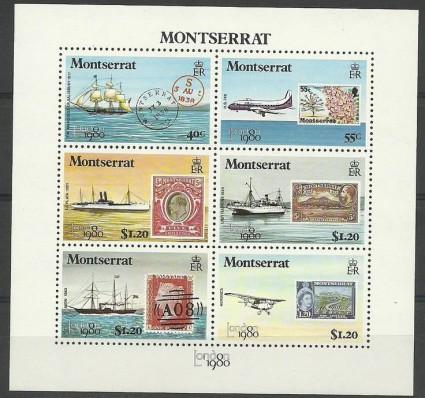 Znaczek Montserrat 1980 Mi bl 22 Czyste **