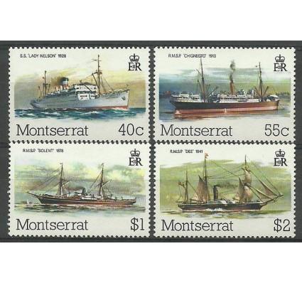 Znaczek Montserrat 1980 Mi 437-440 Czyste **