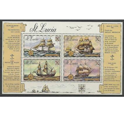 Znaczek Saint Lucia 1973 Mi bl 2 Czyste **