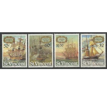 Znaczek St. Vincent 1981 Mi 596-599 Czyste **