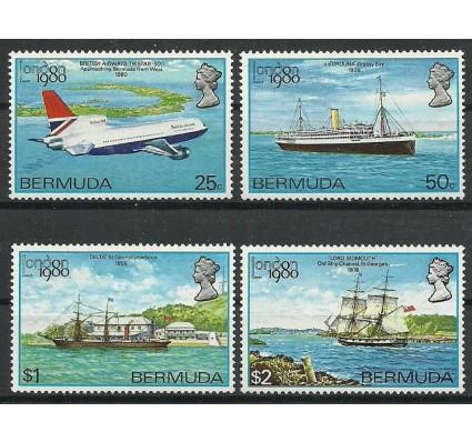 Znaczek Bermudy 1980 Mi 382-385 Czyste **