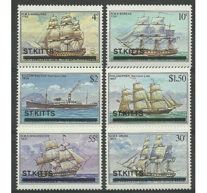 Znaczek Saint Kitts 1980 Mi 33-38 Czyste **