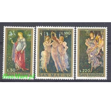 Znaczek San Marino 1972 Mi 994-996 Czyste **