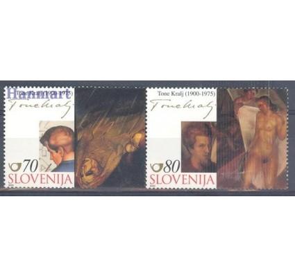 Znaczek Słowenia 2000 Mi 324-325 Czyste **